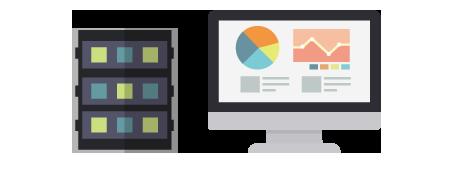 読取結果のチェック済データから、会計システム用データの生成が可能
