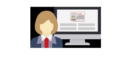 貴社業務フローに沿った上で作業効率を最大限高める画面をご提供